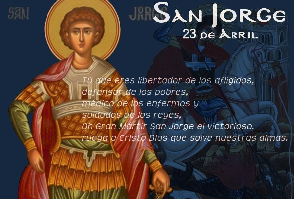 23 de abril: SAN JORGE