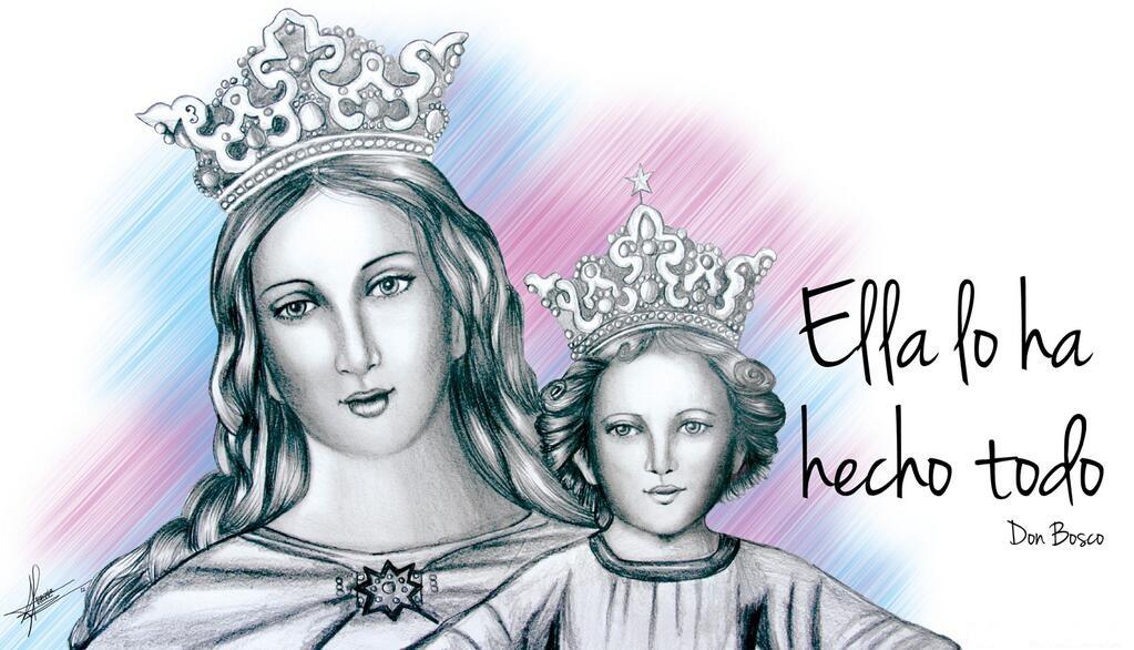 24 de Mayo: María Auxilio de los Cristianos