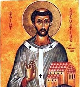 – 27 de mayo: San Agustín de Canterbury –