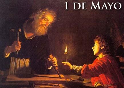 1 de mayo: SAN JOSE OBRERO
