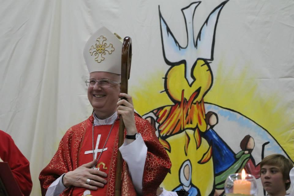 Invitación a la toma de posesión del nuevo obispo