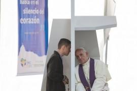 La justicia de Dios es su perdón, el Papa en su catequesis.