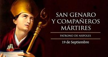19 de septiembre: San Genaro