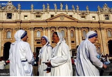 Homilía del Papa Francisco en la Santa Misa con Rito de Canonización de la Madre Teresa de Calcuta