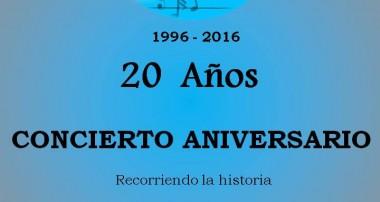 Coral del Carmen: Concierto gratuito 20 años , 30 de octubre a las 20 hs