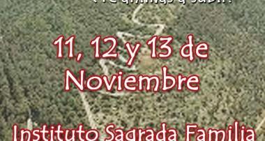 11, 12 y 13 de Noviembre: Retiro Tabor para jóvenes en los Cardales