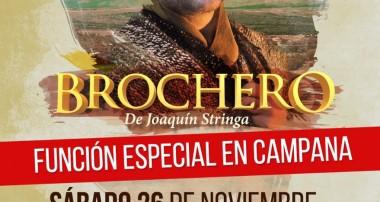 Brochero: Sábado 26 de noviembre en el Teatro La Rosa de Campana