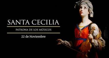 22 de noviembre: Santa Cecilia. ¡Feliz día a los coros y músicos de la diócesis!