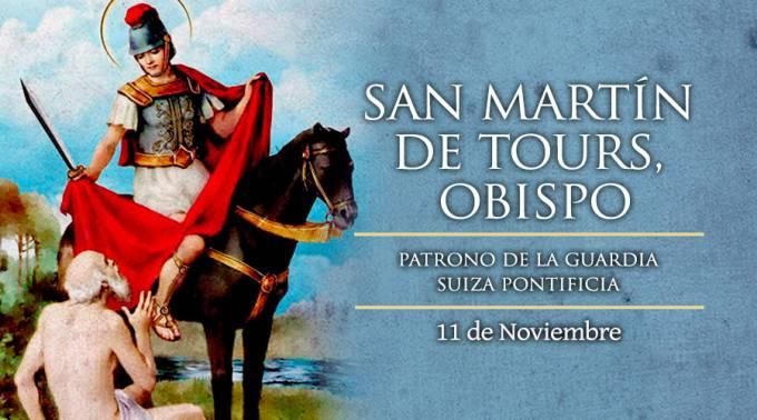 Viernes 11 de noviembre: San Martin de Tours, patrono de la Ciudad Autónoma de Bs As