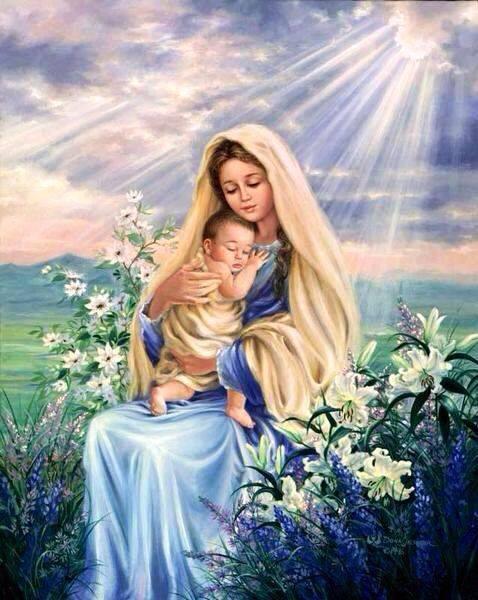 """María Madre de Dios : """"La Virgen María sí es Madre de Dios porque su Hijo, Cristo, es Dios"""""""