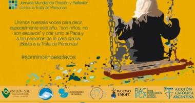 8 de febrero: Jornada Internacional de oración y reflexión contra la trata y tráfico de personas