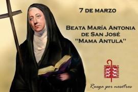 7 de marzo: Beata Mamá Antula
