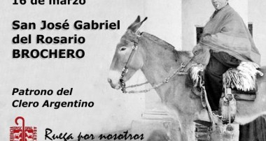 16 de marzo: San Jose Gabriel Brochero