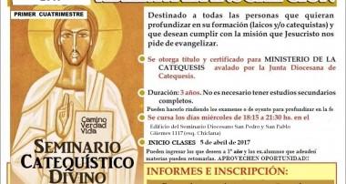 Abierta la Inscripción: Seminario Catequístico Divino Maestro en Campana