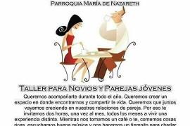 """Para novios y parejas jóvenes: """"Merienda para dos"""" 22 abril 16 hs Pquia Nazareth en Zarate"""