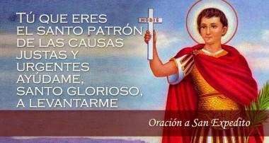 """19 de abril: San Expedito: """"Intercede por nuestras causas justas y urgentes"""""""