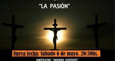 """Sábado 6 de mayo 20:30 hs: Obra musical """"LA PASIÓN"""". Plaza Italia, Zárate"""