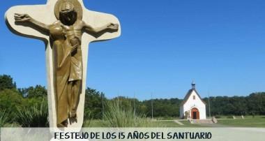 Domingo 21 de mayo 13:30 hs Festejo 15 años Santuario de Shoenstatt, Escobar