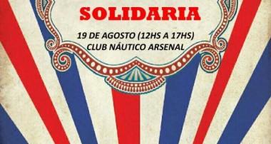 19 de agosto 12 hs : Kermesse Solidaria – Club Nautico Arsenal Zárate