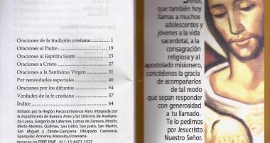 Oraciones del Cristiano, herramienta para Evangelización disponible