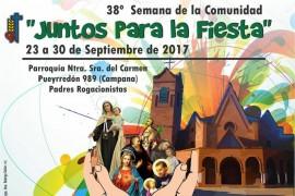 38° Semana de la Comunidad Rogacionista en Campana