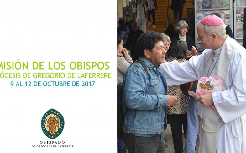 Misión de Obispos Región Buenos Aires: 9 al 12 octubre 2017