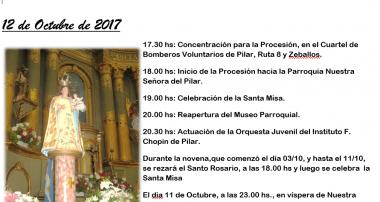 Fiestas Patronales Nuestra Señora del Pilar, Pilar