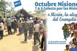 7 y 8 de octubre – Colecta por las Misiones