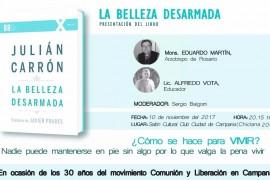 La Belleza Desarmada: Presentación del libro 10 de noviembre a las 20:15 – Club Ciudad de Campana