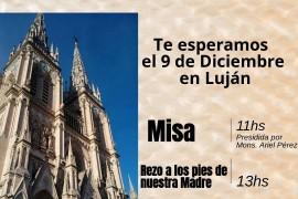 9 de diciembre: Encuentro en Luján para Partidistas