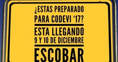 CODEVI Sábado 9 de diciembre 9 hs en Colegio San Vicente de Paul, Escobar.