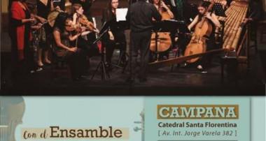 Sábado 9 de diciembre 20 hs: Concierto de Navidad en la Catedral Santa Florentina