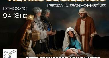 Domingo 3 de diciembre: Retiro de Silencio en Pilar