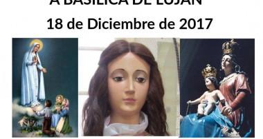 18 de diciembre IX Peregrinación de Piedad Ecuménica: Basílica de Luján