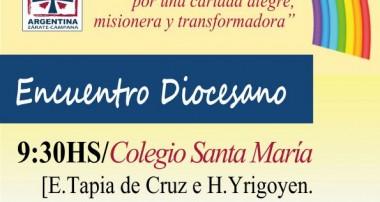 Sábado 16 diciembre 9:30 hs Encuentro diocesano Cáritas en Cocatedral Escobar