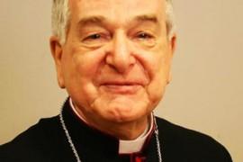 Carta de despedida del Nuncio Apostólico Mons. Emil Paul Tscherrig