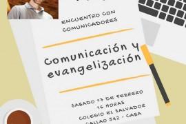 Encuentro de Comunicadores con José María Rodriguez Olaizola SJ.