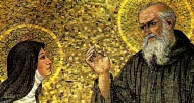 Cuando santa Escolástica enseñó a su hermano san Benito que más puede quien más ama