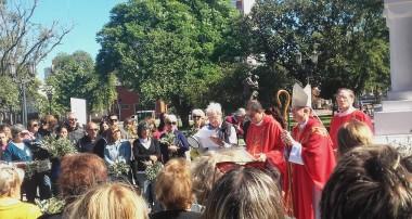 Mons Pedro Laxague: Homilía Domingo de Ramos 25 de marzo 2018 #valetodavida
