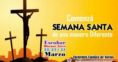 Encuentro de Novios 23, 24 y 25 de marzo en el Colegio San Vicente de Escobar