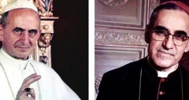 Los santos que vienen: Romero y Pablo VI
