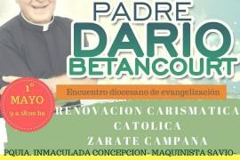 La Renovación Carismática invita a un encuentro con Padre Darío Bentancourt