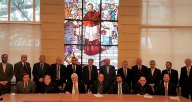 El Episcopado recibió a entidades judías