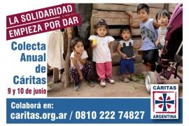 Cáritas Argentina: La solidaridad empieza por dar