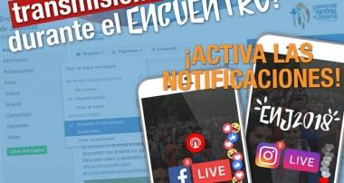 Encuentro Nacional de Juventud: ¡No te pierdas las transmisiones en VIVO!