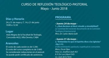 Curso de la Facultad de Teología sobre la Sinodalidad