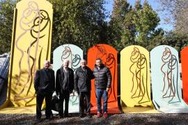 """Mons. Oscar Ojea visito el espacio """"Arte en las Fábricas"""""""