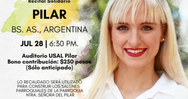 Recital a beneficio en Pilar: Athenas 28 julio 2018