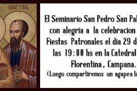 Patronales Seminario Diocesano San Pedro y San Pablo