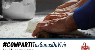 Adultos Mayores Campaña: #Compartir .26 de julio: San Joaquín y Santa Ana